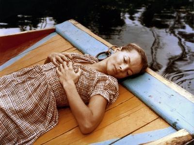 L'ASSASSINAT by TROTSKY, 1972 directed by JOSEPH LOSEY Romy Schneider (photo)