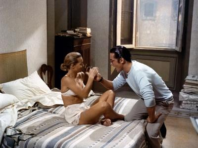 """L'Assassinat by Trotsky """" Assassination of Trotsky """" by Joseph Losey with Romy Schneider and Alain"""