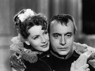 Marie Walewska (Conquest) by Clarence Brown with Greta Garbo and Charles Boyer (dans le role by Nap