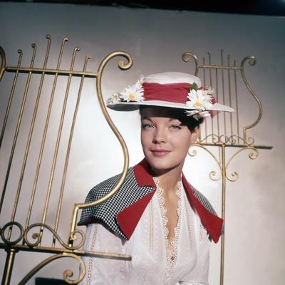 CHRISTINE, 1958 directed by PIERRE GASPARD-HUIT Romy Schneider (photo)