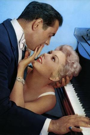 THE EDDY DUCHIN STORY, 1956 directed by GEORGE SIDNEY Kim Novak and Tyrone Power (photo)