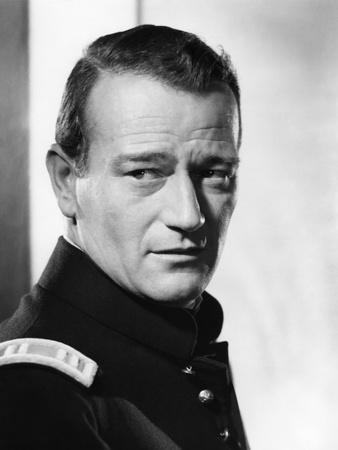 FORT APACHE, 1948 directed by JOHN FORD John Wayne (b/w photo)