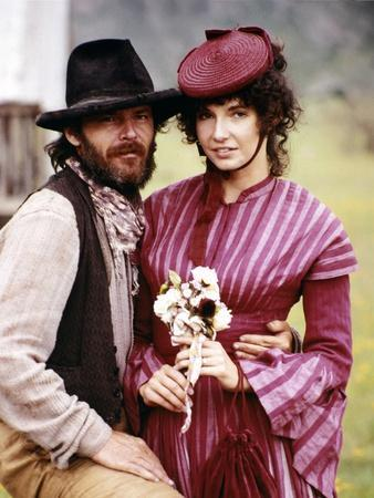 GOIN' SOUTH, 1978 directed by JACK NICHOLSON Jack Nicholson and Mary Steenburgen (photo)