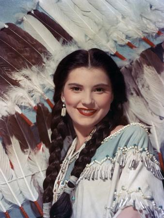 BROKEN ARROW, 1950 directed by DELMER DAVES Debra Paget (photo)