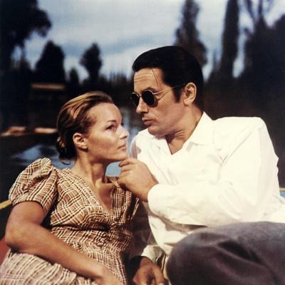 """L'Assassinat by Trotsky """" Assassination of Trotsky """" by Joseph Losey with Alain Delon and Romy Schn"""