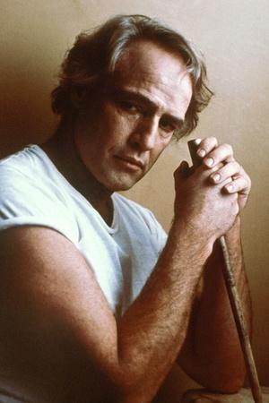 LAST TANGO IN PARIS, 1972 directed by BERNADO BERTOLUCCI Marlon Brando (photo)