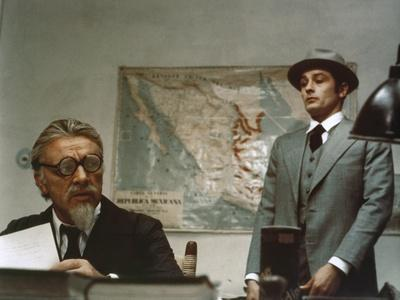 "L'Assassinat by Trotsky "" Assassination of Trotsky "" by Joseph Losey with Richard Burton and Alain"