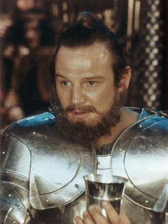 ", 1981 --- British actor Liam Neeson as Gawain in the, 1981 film ""Excalibur"", directed by British d"