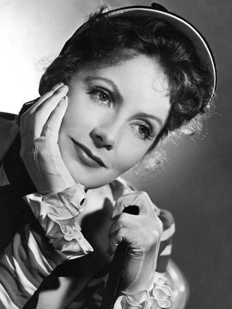 Marie Walewska (Conquest) by Clarence Brown with Greta Garbo, 1937 (b/w photo)