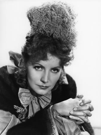 Camille by George Cukor, based on a novel by Alexandre Dumas son, with Greta Garbo, 1937 (b/w photo
