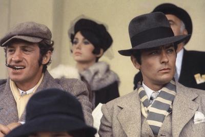 Borsalino by Jacques Deray with Jean-Paul Belmondo and Alain Delon, 1970 (Marseille hippodrome Bore