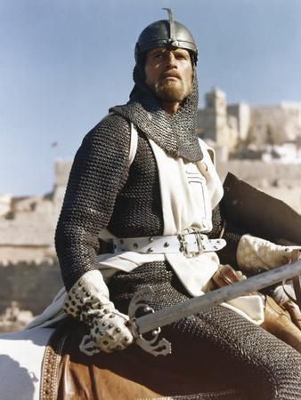 EL CID, 1961 directed by ANTHONY MANN Charlton Heston (photo)