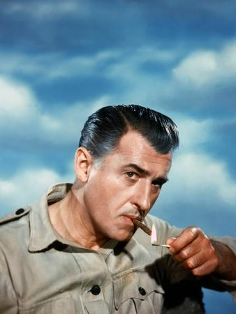 KING SOLOMON'S MINES, 1950 directed by COMPTON BENNETT Stewart Granger (photo)