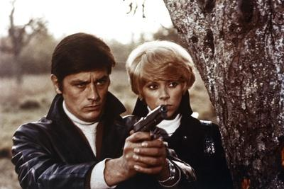 Jeff by JeanHerman with Alain Delon and Mireille Darc, 1968 (photo)