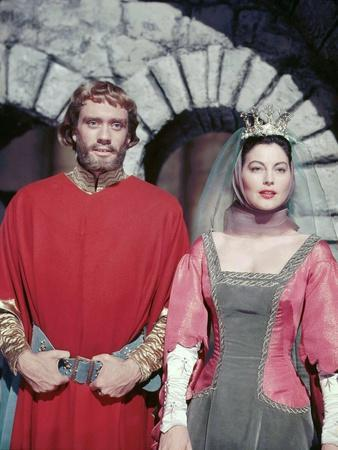 KNIGHTS OF THE ROUND TABLE, 1953 directed by RICHARD THORPE Mel Ferrer and Ava Gardner. January 1,