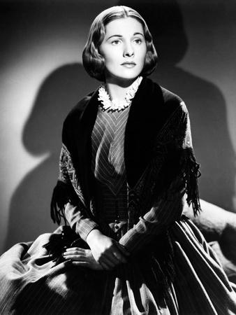 JANE EYRE, 1944 directed by ROBERT STEVENSON Joan Fontaine (b/w photo)