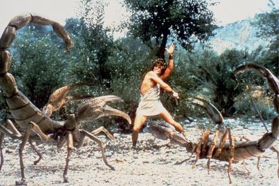 CLASH OF THE TITANS, 1981 directed by DESMOND DAVIS Harry Hamlin (photo)