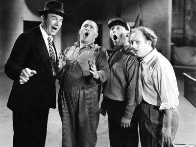 DANCING LADY, 1933 directed by ROBERT Z. LEONARD The Three Stooges (b/w photo)
