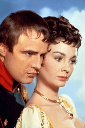 Desiree by Henry Koster with Marlon Brando (dans le role by Napoleon) and Jean Simmons, 1954 (photo