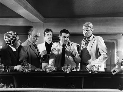 CENT MILLE DOLLARS AU SOLEIL, 1964 by HENRI VERNEUIL Bernard Blier, Jean-Paul Belmondo, Lino Ventur