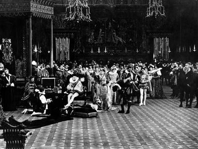 INTOLERANCE, 1916 directed by DAVID WARK GRIFFITH Pictured here is a scene still from the, 1916 fil