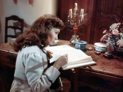 Desiree by Henry Koster with Jean Simmons, 1954 (photo)
