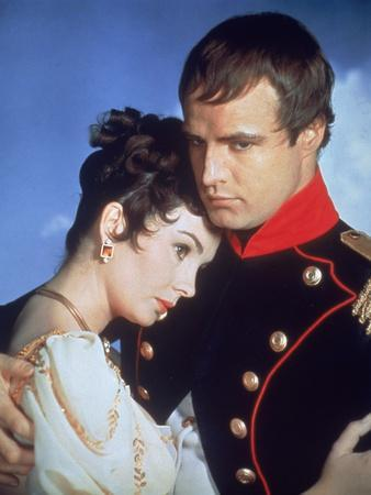 Desiree by Henry Koster with Jean Simmons, Marlon Brando (dans le role by Napoleon, 1954 (photo)