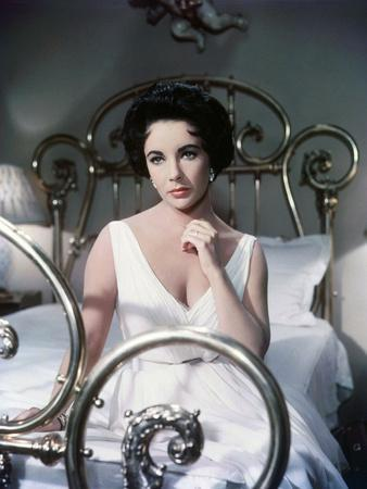 CAT ON A HOT TIN ROOF, 1958 directed by RICHARD BROOKS Elizabeth Taylor (photo)
