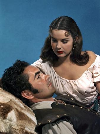 CAPTAIN FROM CASTILE, 1947 directed by HENRY KING Tyrone Power and Jean Peters (photo)