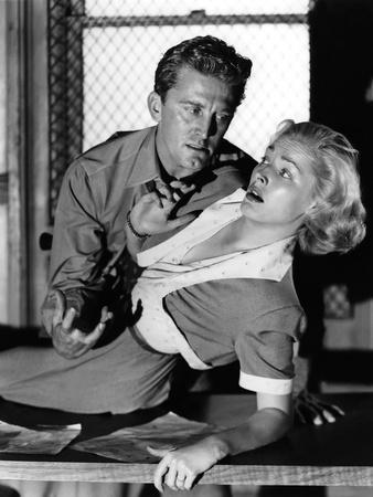 Histoire by detective (Detective Story) by William Wyler with Eleanor Parker, Kirk Douglas, 1951 (b