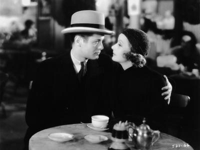 INSPIRATION, 1931 directed by CLARENCE BROWN Robert Montgomery / Greta Garbo (b/w photo)
