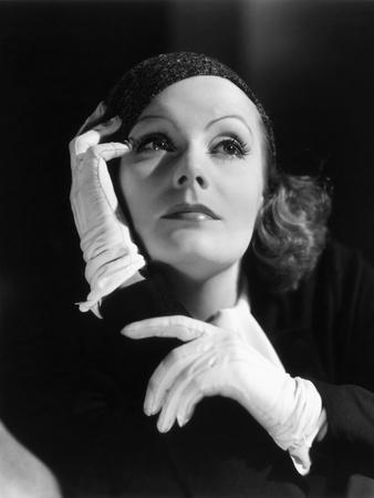 L'inspiratrice INSPIRATION by Clarence Brown with Greta Garbo, 1931 (b/w photo)