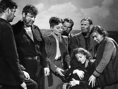 Lifeboat by Alfred Hitchcock, 1944