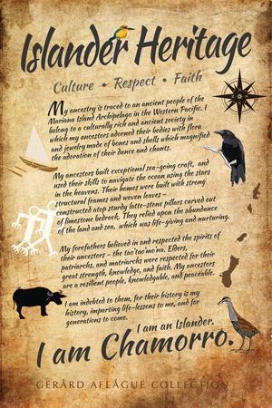 Islander Heritage - I Am Chamorro (Guam and CNMI)