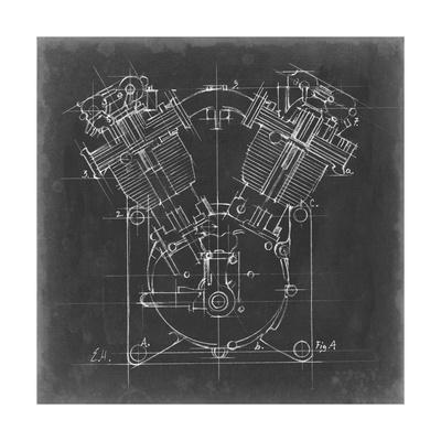 Motorcycle Engine Blueprint II