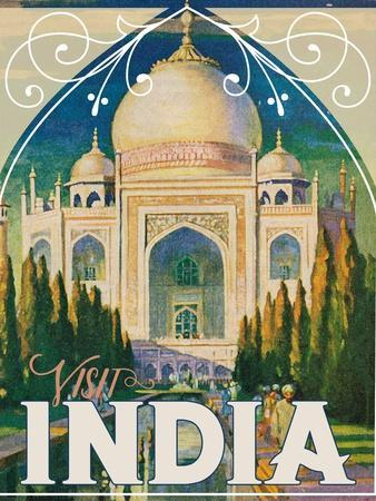 Travel Poster - India