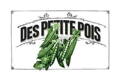 French Produce - Peas