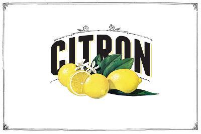 French Produce - Lemon