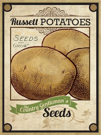Seed Packet - Potatoes