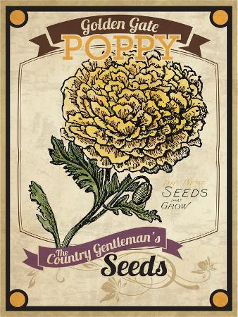 Seed Packet - Poppy