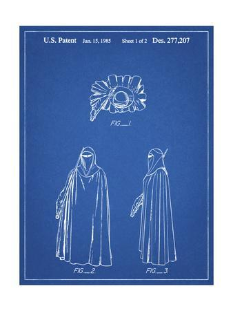PP598-Blueprint Star Wars Imperial Guard Patent Poster