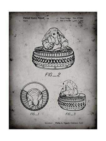 PP649-Faded Grey Star Wars Max Rebo Patent Poster
