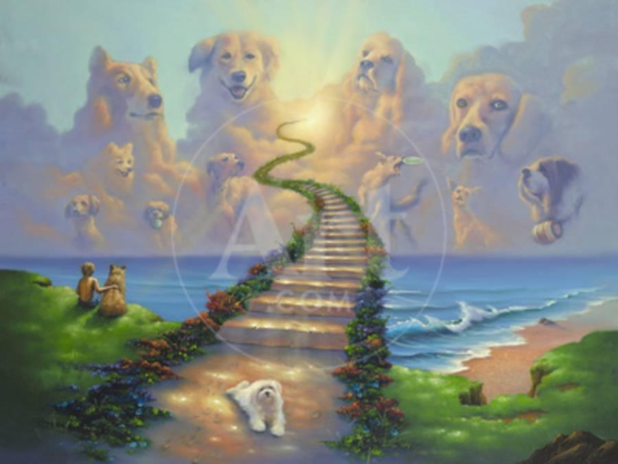 All Dogs Go To Heaven 2 Giclee Print By Jim Warren At Allposterscom