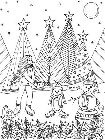 Christmas Iceskaters