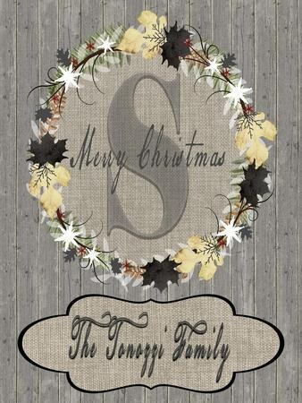 Personalized Christmas Sign V19