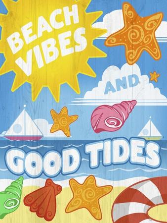 decorative play mat.htm beach vibes giclee print by ali chris at allposters com  beach vibes giclee print by ali chris
