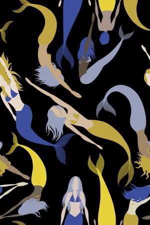 Mermaid Pattern 1