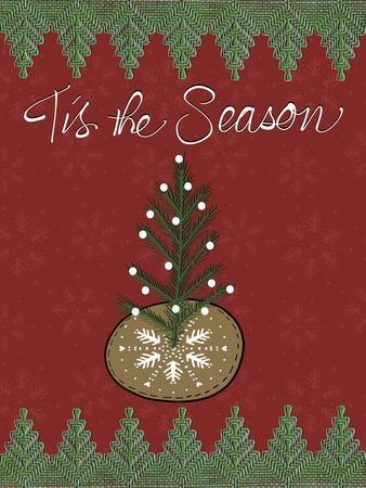 Christmas Folk Tree