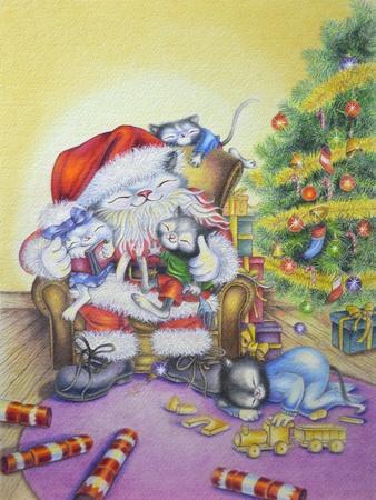 Santa-Cuddles