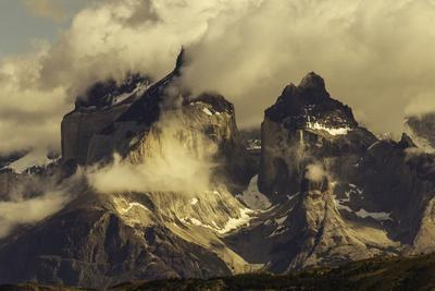 Paine Massif, Torres del Paine National Park, Chile, Patagonia